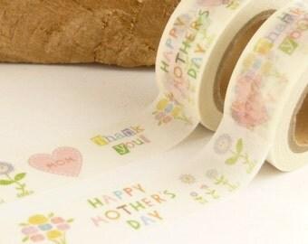 Happy Mothersday Washi Tape - 1880