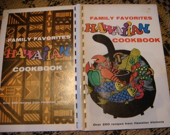 1979 Vintage Cookbook  Family Favorites Hawaiian Cooking 250 Recipes Hawaiian Kitchens