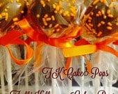 Harvest Autumn Halloween Cake Pops