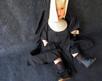 Vintage Nun Doll Composition Doll