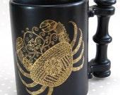 Vintage Retro Port Meirion Zodiac Sign Cancer the Crab Mug