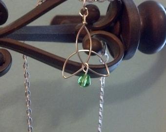 Triquetra Celtic Trinity Pendant necklace