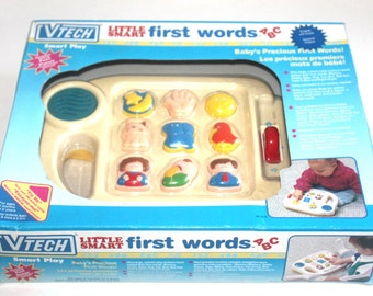 NIB 1993 Vtech Little Smart First Words, Electronic Learning Game, Antique Alchemy