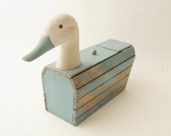 Wooden Duck Box