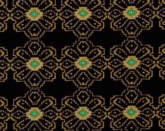 "SAVE on 29"" bolt end--Ty Pennington--Collision--Black--100% cotton fabric"
