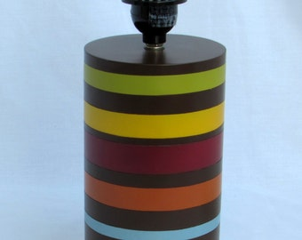 Colorful Striped Lamp