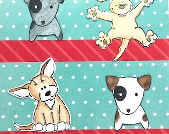 Thank you Veterinarian, Dog lover card, cute puppies, thanks, awesome card