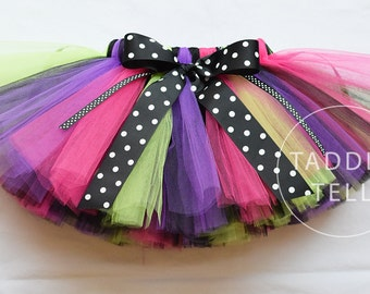 GWYDION The Witch - Includes Halloween Costume Tutu - Sizes 0, 3, 6, 9, 12, 18, 24 Months, 2t, 3t, 4t, 5t
