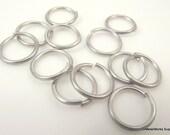 2 oz Aluminum Jump Rings, Machine Cut, 16 ga 7/16