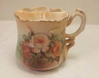 Antique BRANDENBURG MUSTACHE MUG