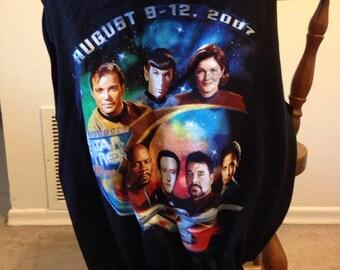 Star Trek Convention Tee Shirt Market Bag