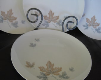 Noritake Maplewood dinner plates, Retro, Maplewood, Cookin Serve discontinued, Very good Set of 4 is included