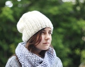 super chunky knitted hat, adult, teen or kid,  CHOOSE YOUR COLOR