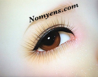 BJD  eyelash :  natural brown