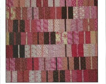 Salt Water Taffy Quilt Pattern, Blue Underground Studios, DIY Quilting, Fat Quarter Friendly!