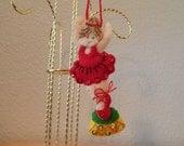 Ballerina 3D Ornament-Hand Stitched Felt
