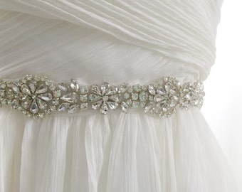 USA SELLER - thin wedding sash, thin wedding belt, thin bridal sash, skinny wedding belt sash, dainty bridal wedding belt sash