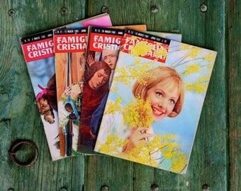 Italian magazine collection, 1961 Famiglia Cristiania