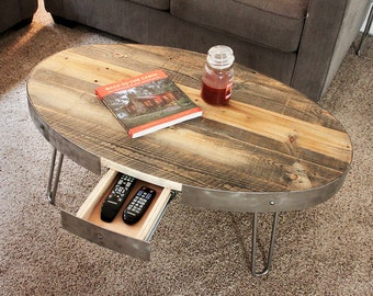 Reclaimed Wood With Drawer