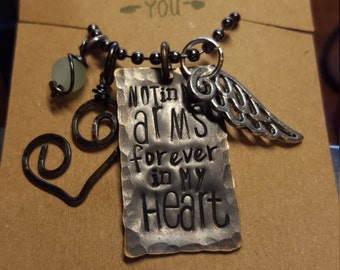 Memory necklace, mother necklace