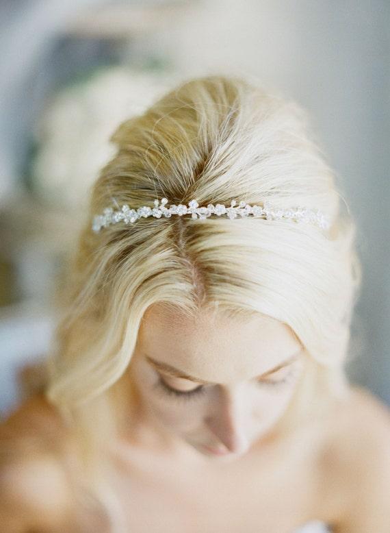 MINA Thin Bridal Headband