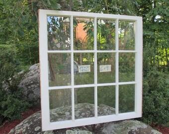 30x31 Vintage Window sash 12 panes  from 1970s