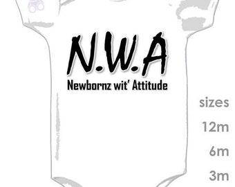 N.W.A - Straight Outta Compton - Newborn with attitude - Beats - NWA - Dr Dre - Ice Cub - Easy E