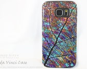 Samsung Galaxy S6 Case - Colorful Aspen Leaf - dual layer Galaxy S 6 Case with Fall Nature Art - Stained Aspen