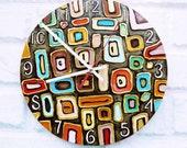 The Klimt Wall Clock, Home Decor for Children Baby Kid Boy Girl