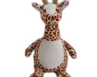 Personalised Soft Giraffe