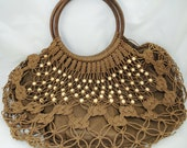 Boho Bag, BoHo Purse, VERY Unique Purse Probably HandMade  AV284