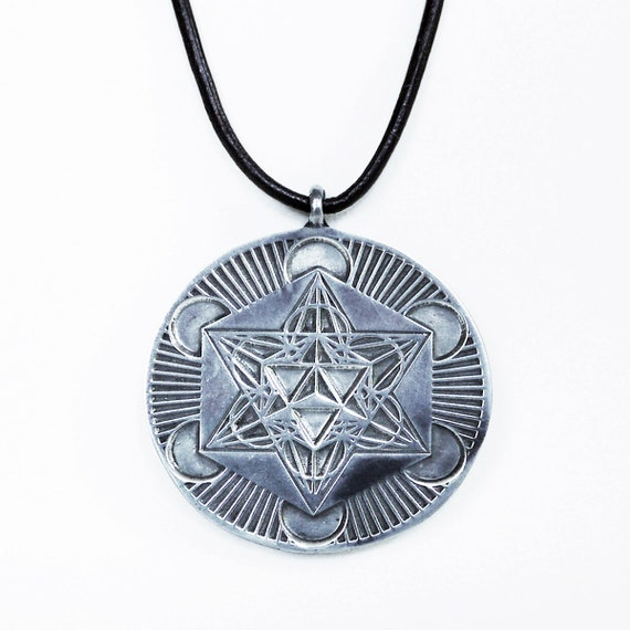 Flower of life metatron sacred geometry pendant with magnet for Metatron s cube jewelry