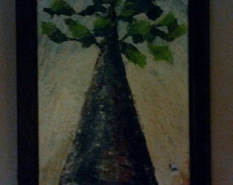 Tree painting/acrylic on canvas