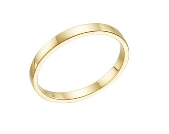 unisex wedding band , white gold wedding band,classic wedding band , Yellow gold wedding band, simple wedding band ,unisex wedding ring