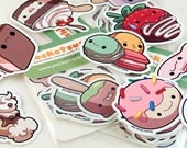 Sweet Dessert Stickers