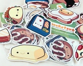 Delicious Food Stickers
