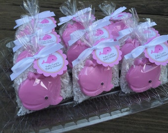 10 WHALE SOAPS (Tags and ribbons included), Baby Shower, party favors