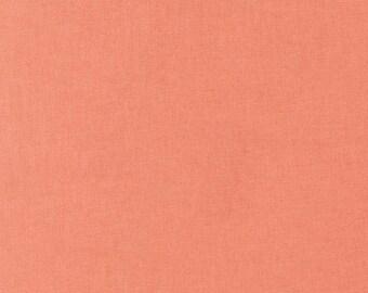 Kona Cotton Solid in Salmon by Robert Kaufman