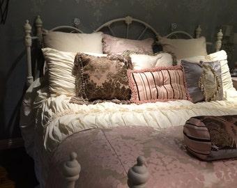 Gorgeous Custom made bedding/king size bedding
