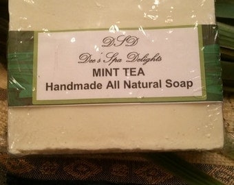 Mint Tea isn't Just for your Cup... Mint Tea Soap