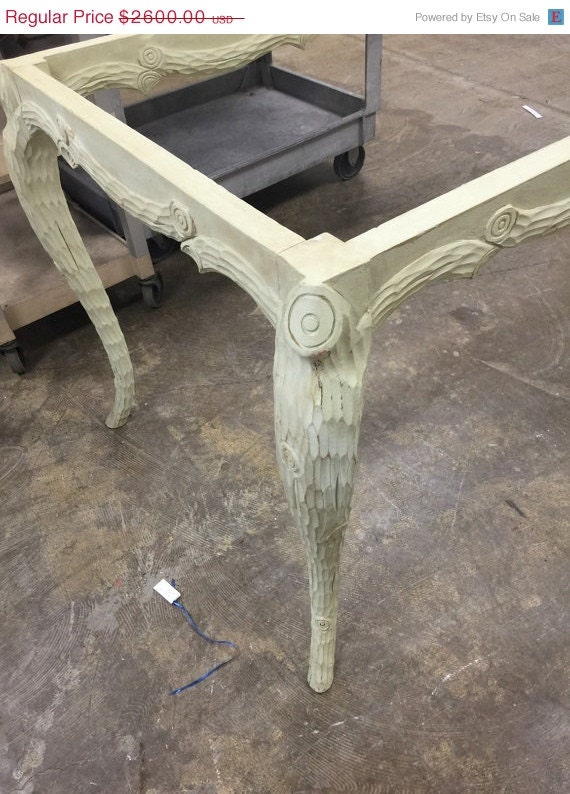 Big Sale Vintage faux bois dining table wood tree by  ~ Table Bois Vintage