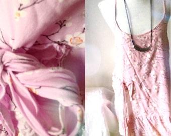 Cherry tree blossom dress
