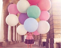 36 inch giant balloons birthday party wedding babyshower party prop decor