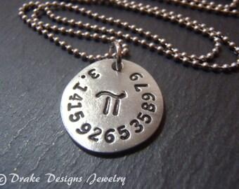 math jewelry pi necklace geekery nerdy jewelry math gifts