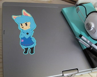 ACNL- Cyrus inspired Vinyl Decal