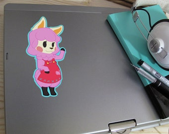 ACNL- Reese inspired Vinyl Decal