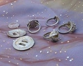 Reserved for Flor  Do NOT buy unless you are Flor Silver Supplies, Silver Destash, Broken Jewelry, Old Jewelry, Supplies