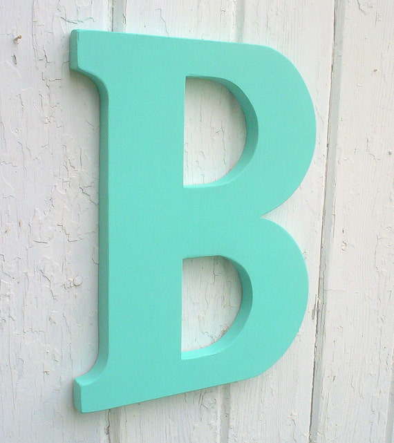 Items similar to wooden letters big 12 inch serif letter b for Big wooden letter b