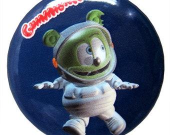 Gummibär (The Gummy Bear)  Astronaut Button