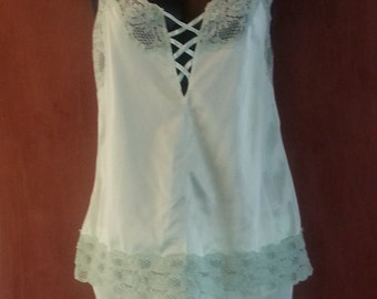 Intime of California  2 piece Camisole & Boy Shorts Lingerie